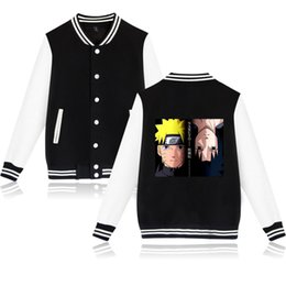 naruto uzumaki jacket Coupons - Anime Naruto jacket Uzumaki Boruto Baseball uniform Boruto Casual Fashion Men Women Jacket student Keep warm Clothes 4XL