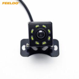 Universal-rücklicht online-FEELDO DC12V Universal-Rückfahrkamera mit 8-LED-Licht Auto-Rückfahrkamera # 5121