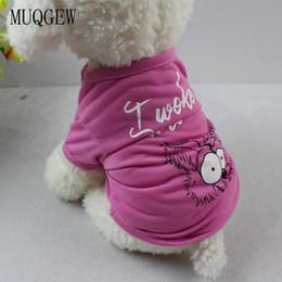 2019 hund shirt frau Haustier Hund Kleidung Kleidung für kleine Hunde niedlichen Hund kleidet Kostüm Chihuahua T-Shirt Chihuahua T-Shirts Frauen roupa Haustier günstig hund shirt frau