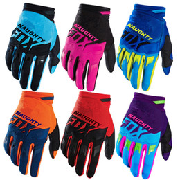 Mens biciclette da montagna online-Dirtpaw Motocross Racing Gloves Uomo Off-road MX MTB DH Mountain Bike Downhill Bicicletta Guantes Enduro Trail Guanto