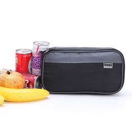 Bolsa enfriadora de leche online-Portátil de nylon bolsa de almuerzo pequeña caja de picnic térmica latas porta hielo bolsa mini nevera bolsa de leche refresca a prueba de agua lavado a prueba de agua