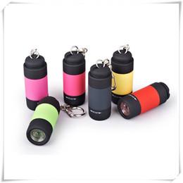 usb mini torch led-taschenlampe Rabatt Mini-Taschenlampen LED-Taschenlampe USB-Taschenlampe Wiederaufladbare bunte LED-Taschenlampe Hochleistungs-Schlüsselanhänger Lampe Schlüsselanhänger Taschenlampen