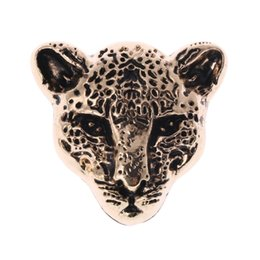 metal decorations for crafts Promo Codes - Leopard Head Metal Bag Decoration for DIY Handbag Craft Shoulder Bags Hardware Accessories