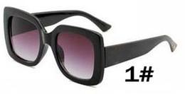 senhoras designer uv óculos de sol Desconto Mulher moda Designer De Luxo óculos de Sol bibliotecário óculos de condução de vidro Senhora grande quadro de proteção de praia óculos de sol deslumbrante uv navio livre