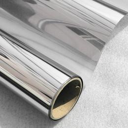 Miroir ARGENT 20/% solar reflective film de fenêtre d/'une façon privée teinte 152 cm x 2m