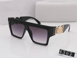 Estilo de verão itália marca medusa óculos de sol VE4362 mulheres homens designer de marca proteção uv óculos de sol lente clara e lente de revestimento sunwear supplier sunglasses brands italy de Fornecedores de óculos de sol marcas italia