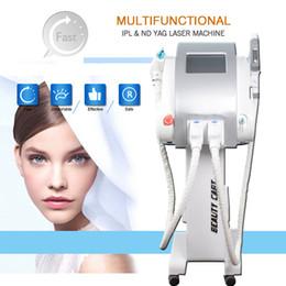 Pular skins on-line-OPCIONE SHR elight depilação a laser rejuvenescimento da pele ipl opt máquina de tratamento da pele Q-Switch ND Yag remoção de tatuagem a laser