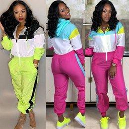 c66c4ec330ea jumping suits woman Coupons - Zipper Jumpsuit Hoodie Tracksuit Women Long  Pants Jogger Outfit Ladies Romper