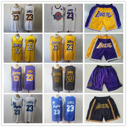 Pantaloncini bianchi neri online-Mens Los