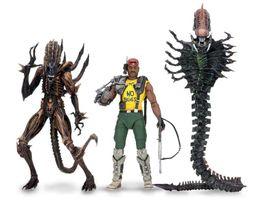 Figuras de serpentes on-line-Estatueta Abnormity Battle Of Wave 13 Aliens Serpente Figuras de Ação Kenner Soldado Soldado de Ferro Modelo Móvel Imagem Criativa PVC 95by3 N1