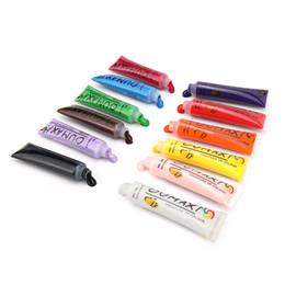 smalto che cambia gel di chiodo Sconti HOT Pratico 1 SET 12 Colori Pittura Acrilico 3D Nail Art Paint Tube Disegnare Manicure Nail Art Tip Gel UV regalo spedizione gratuita