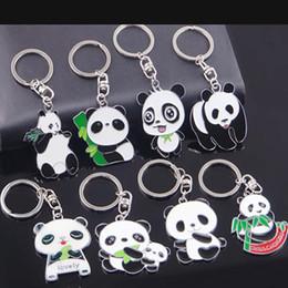 Симпатичные китайские кошельки онлайн-2019 новая панда брелок китайский иероглиф брелок женский кошелек рюкзак творческий милый брелок