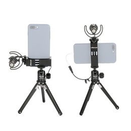 Canada Ulanzi ST-02s 1/4 '' Interface prend en charge la prise de vue horizontale verticale Adaptateur de pince de fixation de trépied pour smartphone multifonction Offre