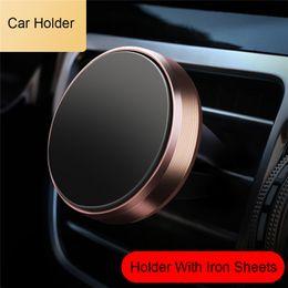 auto telefonhalter paket Rabatt In Auto Air Vent Magnetische Handyhalterung Universal Travel Handy Ständer Halter Für iPhone X XR XS MAX Samsung GPS Geräte Mit Paket