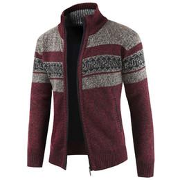 abrigo de lana vintage hombres Rebajas Más el tamaño XXXL para hombre suéter Vintage diseñador de punto Sweatercoat hombres estilo europeo hombre suéteres patrón de abrigo Cardigan lana A384