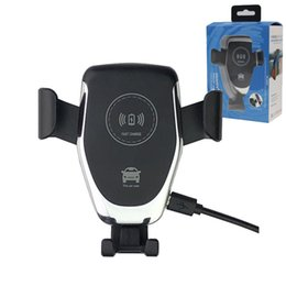 cargador automático de auto soporte para teléfono 10w qi cargador inalámbrico rápido para iphone x xs max xr 8 plus para samsung note9 s10 s9 s8 desde fabricantes