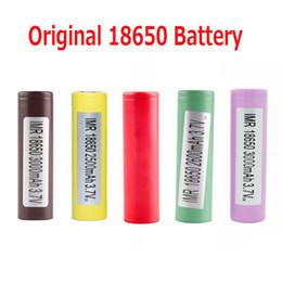 батарея для электронной книги Скидка Оригинальный аккумулятор 18650 LG HG2 Samsung INR18650 30Q 3000 мАч HE2 HE4 INR 25R 2500 мАч Аккумуляторы, использующие ячейку 100% подлинные в Stoc