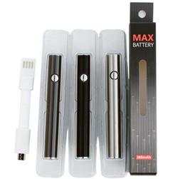 Cera máxima online-Bud O Pen CE3 Vape MAX batería 380 mah con cargador USB E cigarrillo cera aceite plumas 510 hilo para CE3 vaporizador pluma