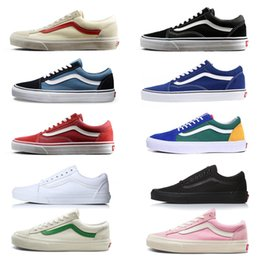 25ac3f4e464 old baseball Coupons - Vans 2019 Athentic Classic Old Skool Canvas Mens  Skateboard Designer Sports Running