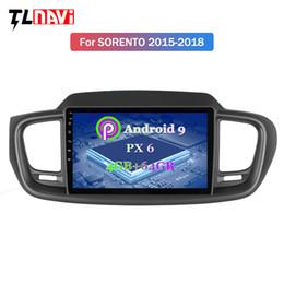 2019 video hindi mp4 9 pollici PX6 4G + 64G Android 9.0 unità Autoradio DVD GPS testa per Kia Sorento 2015-2018 audio radio navigazione stereo