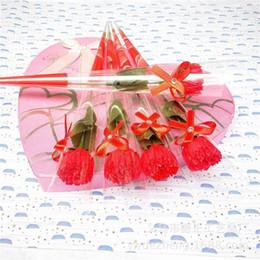 2019 flor rosa dia dos namorados 2019 Simulado único sabonete Rose Sabão Flor Flor Dia Dos Namorados Flor presente de Dia Dos Namorados rose home party wedding decor flor rosa dia dos namorados barato