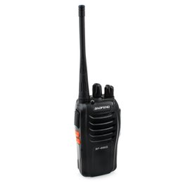 radio comunicador Promo Codes - Baofeng BF-666S Walkie Talkie 5W UHF 400-470MHz Portable 16CH Ham Two Way Radio Comunicador Transmitter FM Transceiver Equipment
