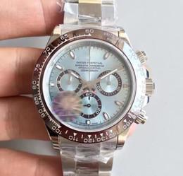 Serie Maschio polso TONA M116519 meccanici orologi automatici Subdials lavoro in acciaio inossidabile Chiusura Vetro Zaffiro da orologi in pietra di geneva fornitori