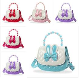 2019 сумочки для малышей Baby Messenger Сумки 5 Цветов Малыша Детские Сумки Дети Девушки Принцесса Сумка Сумка Твердые Бантом Принцесса ПУ Портмоне Подарки скидка сумочки для малышей