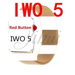 IWO 5 смарт-часы 42 мм MTK2502C I2Spro обновление smartwatch монитор сердечного ритма Bluetooth Notifier часы W53 для IOS Android телефон cheap phones upgrades от Поставщики обновления телефонов
