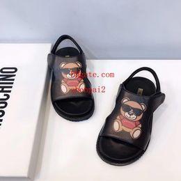2019 enfants sandales d'été garçons 2019 Chaussures d'été pour garçons, filles, chaussures de plage à fond épais pour enfants enfants sandales d'été garçons pas cher