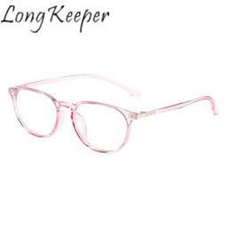 2f8db8cf1ed10 Long Keeper Eyeglasses Eyewear Frame Eye Glasses Women Men Plastic Titanium  TR90 Clear Lens Spectacles Light Fashion Outdoor New