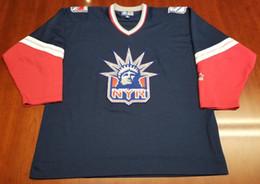 88c82da3792 antipasti economici Sconti Maglia all'ingrosso New York Rangers Vintage  Starter Cheap Hockey Jersey Lady