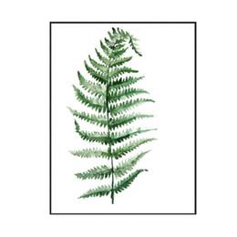 2019 diy ölgemälde pfauen DIY moderne aquarell blatt grünpflanze blumendruck poster wohnzimmer dekoration leinwand kunst malerei geschenk