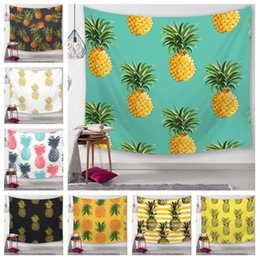 manteles al aire libre Rebajas 25 Estilos Serie Piña Tapiz tapiz digital Impreso Toallas de playa Toalla de baño Decoración para el hogar Mantel Outdoor Blankes T2I5156