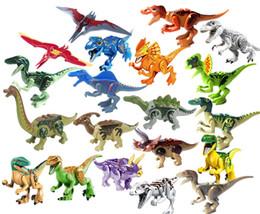 Парк юрского периода Мир динозавров Птерозавры Тиранозавр Детский мультфильм Соберите игрушки Модели Подарок для детей от