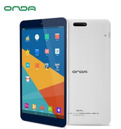 compresse ram 2gb 16gb Sconti Tablet PC Onda V80 Pro da 8 pollici MTK8163A Quad-Core 2GB Ram 16GB Rom 1920 * 1200 IPS Android 7.0 Dual Band WiFi