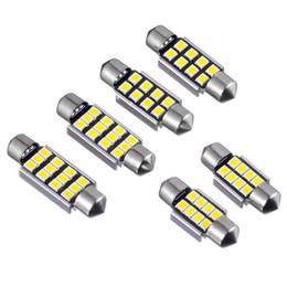 2019 bmw e46 ampoules NOUVELLE LED Carte Intérieure Lumière Festoon 36mm 31mm 39mm 41mm 2835 Sans Erreur 8SMD LED Lumière De Lecture de voiture intérieur dôme lampe ampoules
