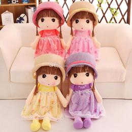 2019 giocattoli all'ingrosso delle bambine Nuovi giocattoli della peluche Bambole della principessa sveglie animali di peluche Bambina bambino regalo di compleanno giocattoli di peluche all'ingrosso giocattoli all'ingrosso delle bambine economici