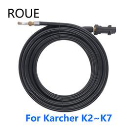 aplicador de vinil Desconto 2320psi / 160bar esgoto de drenagem de água Limpeza Mangueira para Karcher K1 K2 K4 K5 K6 K7 Arruela de alta pressão
