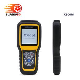 OBDSTAR X300M OBD2 Corrección del cuentakilómetros X300 M Herramienta de diagnóstico de ajuste de kilometraje (todos los autos pueden ajustarse mediante Obd) Actualización mediante tarjeta TF desde fabricantes