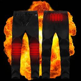 Elektrikli Isıtmalı Sıcak Pantolon Erkekler Kadınlar USB Isıtma Bankası Katmanlı Elastik Pantolon nereden