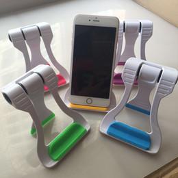 Große klammern online-2019 GROßER VERKAUF Faltbarer Telefonhalter Tablet PC Lazy Folding Bracket für iphone 5 6 Smartphones für Tablet Pad 2 4 Pro Stand