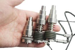 Titanium nail 10mm 14mm 18mm Highly Domeless Titanium Nail for 10mm 16mm 20mm Coil Adjustable Titanium Nail 15pcs