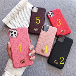 smartphone resistente a choque Desconto Recém-concebida iPhone XS Max XR X 7 8 Plus 11Pro telefone macio caso de impressão do telefone móvel shell / resistente a riscos letras de impressão