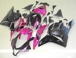 black purple motorcycle fairings Promo Codes - New Injection Mold ABS motorcycle Fairings Kits Fit For HONDA CBR600RR F5 2009 2010 2011 2012 09-12 bodywork set custom Fairing purple black