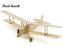 Argentina Avión de corte por láser RC Avión de madera de balsa Micro Tiger Moth DH 82 Marco sin cubierta Envergadura 400 mm Kit de construcción modelo de madera de balsa cheap model laser cutting Suministro