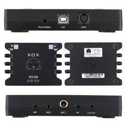 konverter audio-mikrofon Rabatt Mini externe USB-Soundkarte MIC-Schnittstelle für PC Computer Laptop Mobile mit Audio Adapter Converter