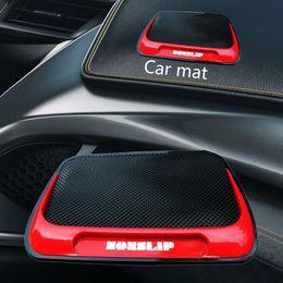 tappeti rossi per auto Sconti Fibre Car Series Pu Mat Silicon fibra Pu Leopard auto Forniture bagagli Mat Red Fire Poly-slip Mats Cento