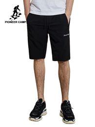 """Junta directiva del campamento online-Pioneer camp hombre verano pantalones cortos casuales hombres """"nueva etapa"""" Junta de bordado pantalones cortos cintura elástica sólida para ADK901082"""