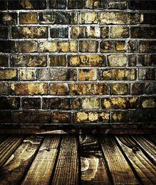 2019 piso de vinil impresso 5x7ft Vinyl Photography Backdrops piso de madeira foto backdrops para Photo Studio fotografia computador impressão piso de vinil impresso barato